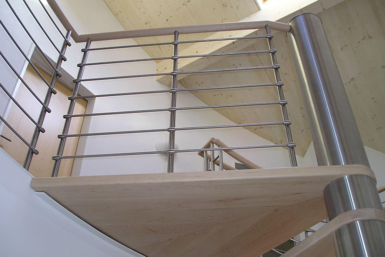 Wendeltreppe, erbaut von Hettich & Partner