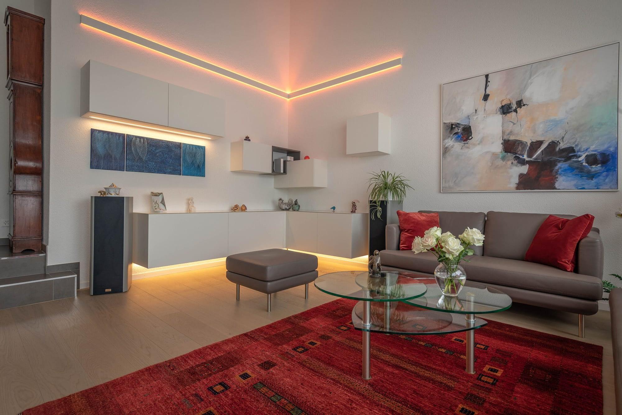 Wohnzimmer Umgestaltung