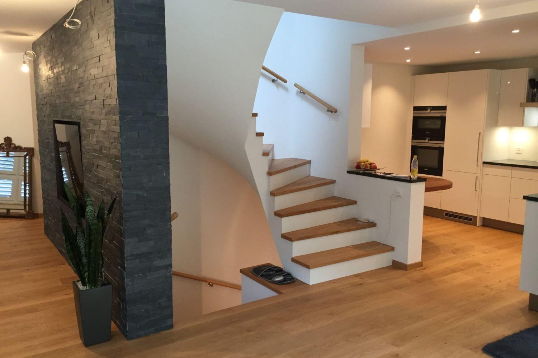 Umbau des Wohnbereiches durchgeführt von Hettich & Partner